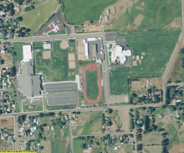 Kittitas County, WA aerial photography detail