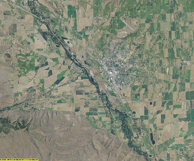 Kittitas County, Washington aerial photography