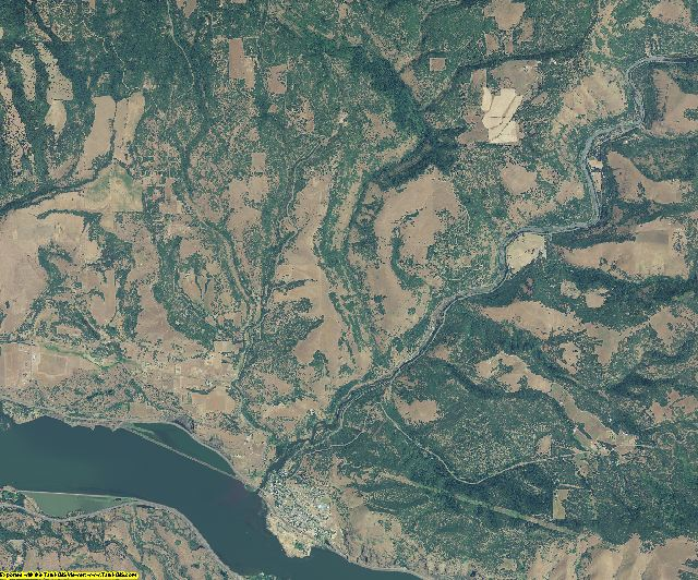 Klickitat County, Washington aerial photography