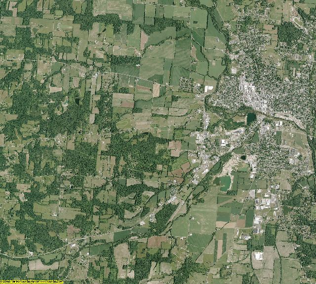 Knox County, Ohio aerial photography