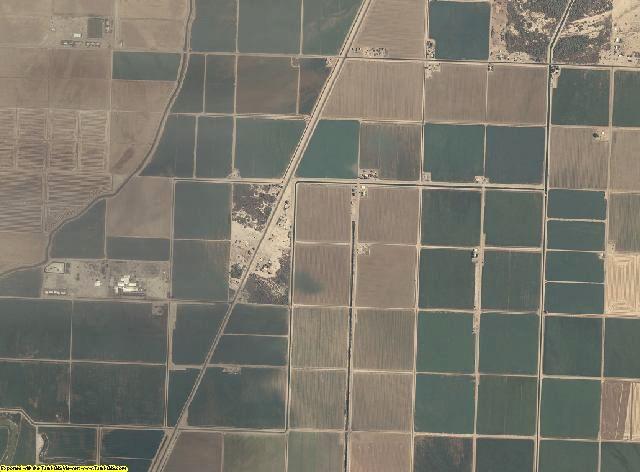 La Paz County, Arizona aerial photography