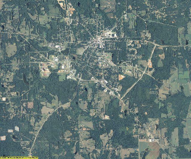 Lamar County, Georgia aerial photography