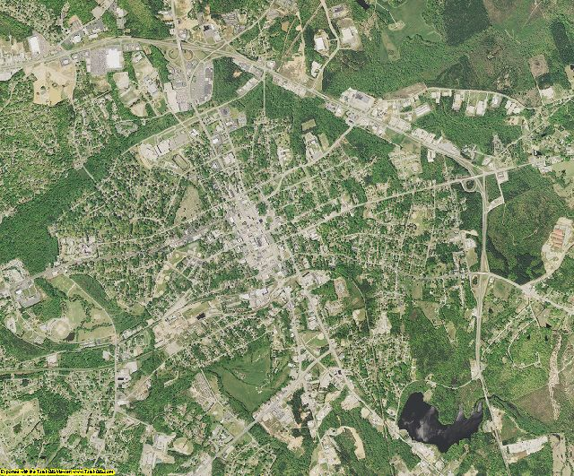 Lancaster County, South Carolina aerial photography