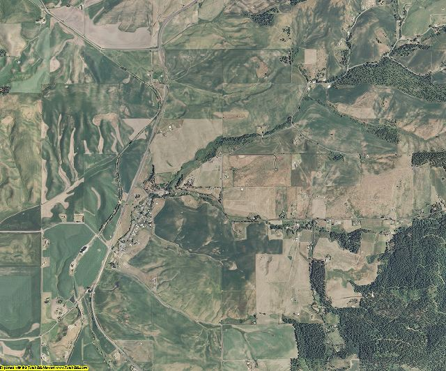 Latah County, Idaho aerial photography