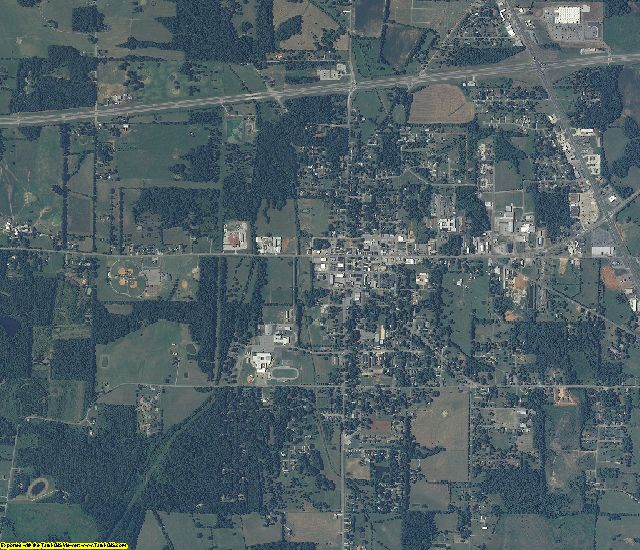 Lawrence County, Alabama aerial photography
