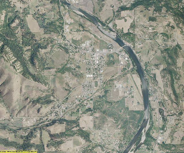 Lewis County, Idaho aerial photography