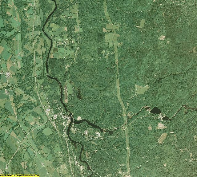 Lewis County, New York aerial photography