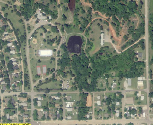 Logan County, OK aerial photography detail