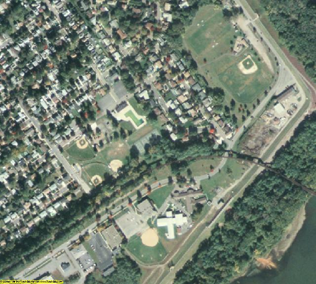 Luzerne County, PA aerial photography detail