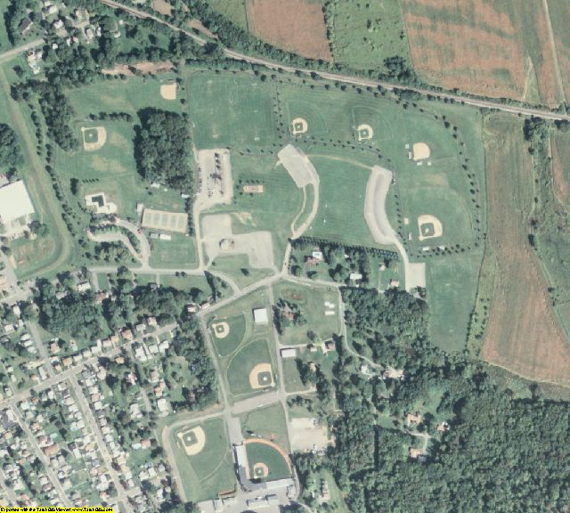 Lycoming County, PA aerial photography detail