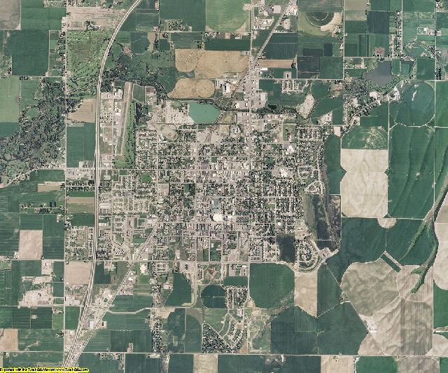 Madison County, Idaho aerial photography