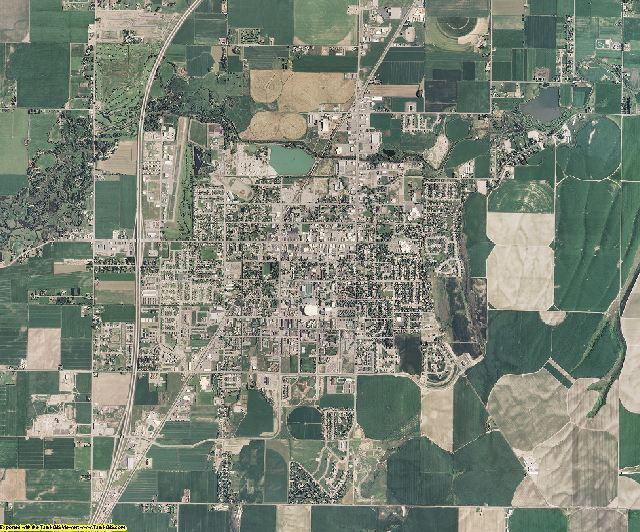 Madison County, Idaho aerial photography