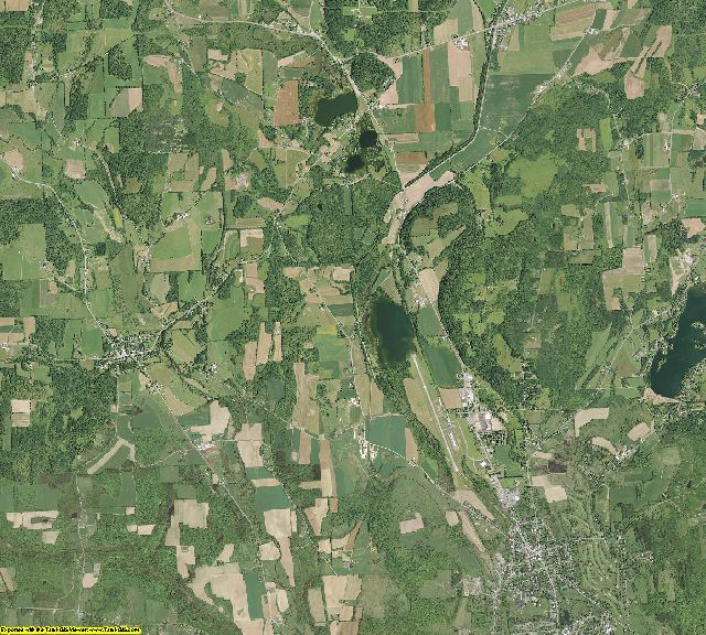 Madison County, New York aerial photography