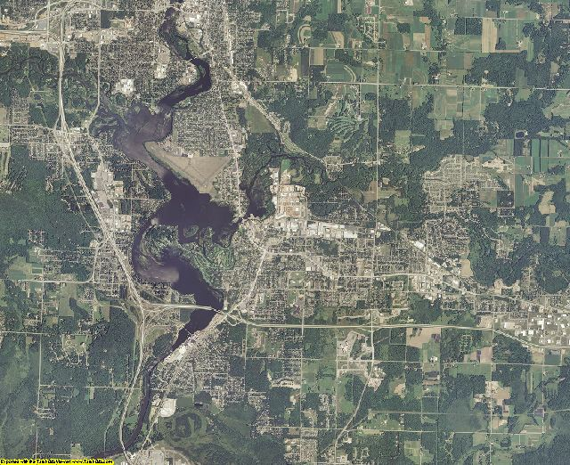 Marathon County, Wisconsin aerial photography