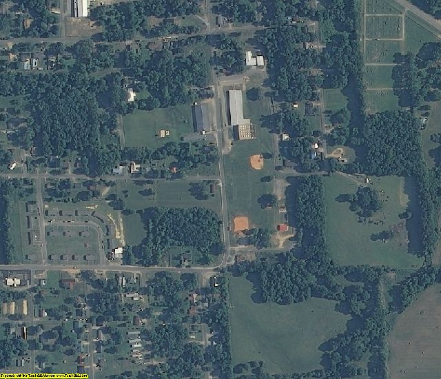 Marengo County, AL aerial photography detail
