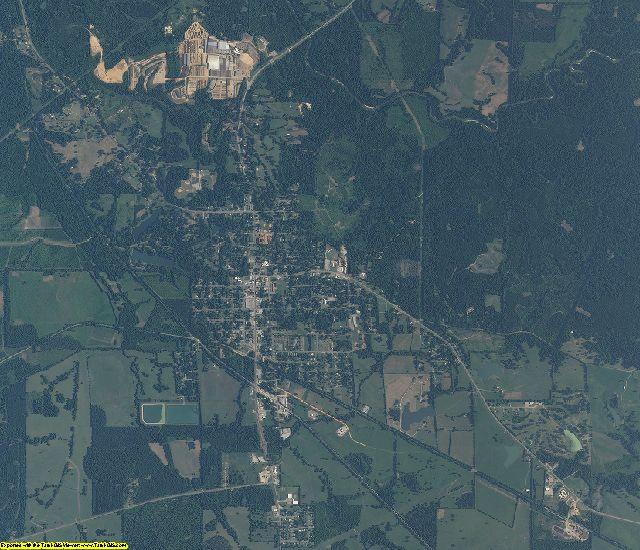 Marengo County, Alabama aerial photography