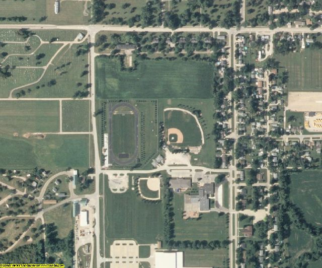 Marion County, IA aerial photography detail