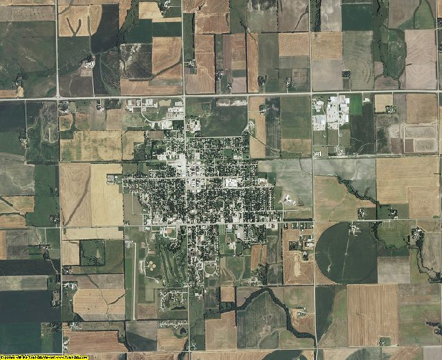 Marion County, Kansas aerial photography