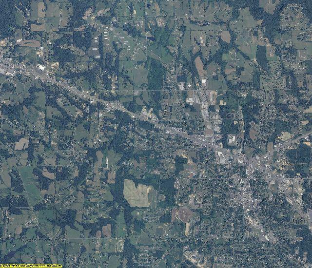 Marshall County, Alabama aerial photography