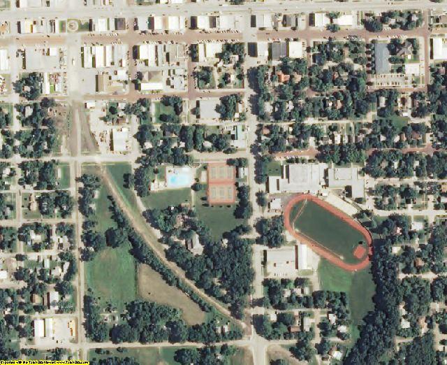 Marshall County, KS aerial photography detail