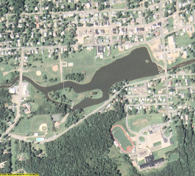 McKean County, PA aerial photography detail