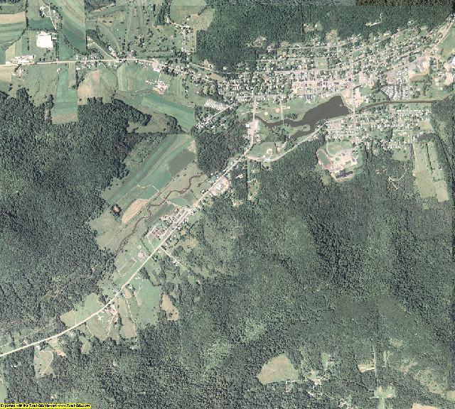 McKean County, Pennsylvania aerial photography