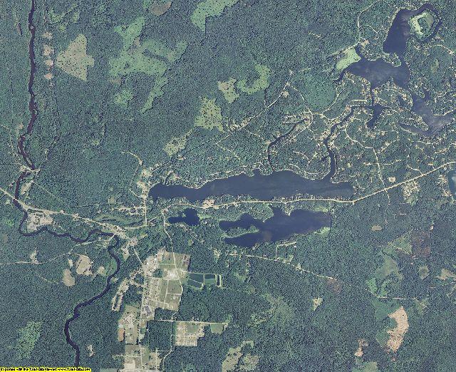 Menominee County, Wisconsin aerial photography