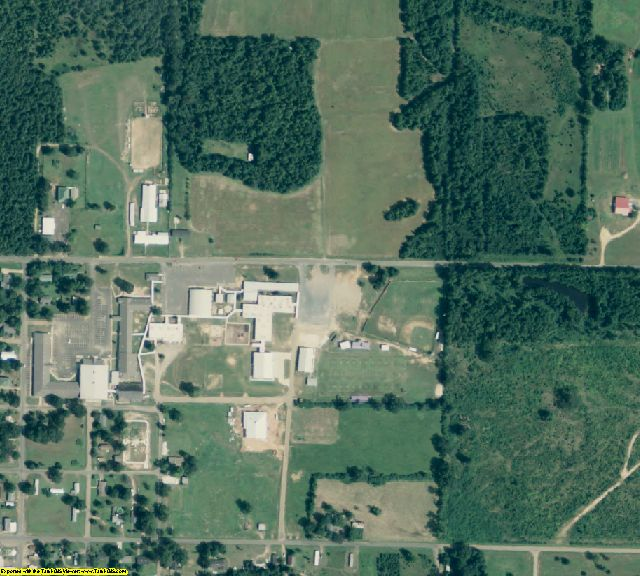 Miller County, AR aerial photography detail