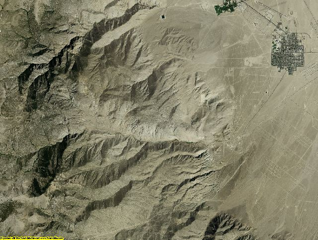 Nevada aerial photography