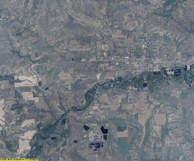 Moffat County, Colorado aerial photography
