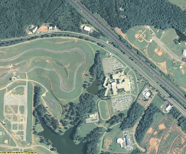 Monroe County, GA aerial photography detail