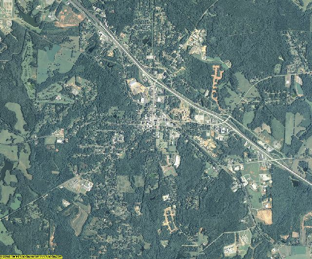 Monroe County, Georgia aerial photography