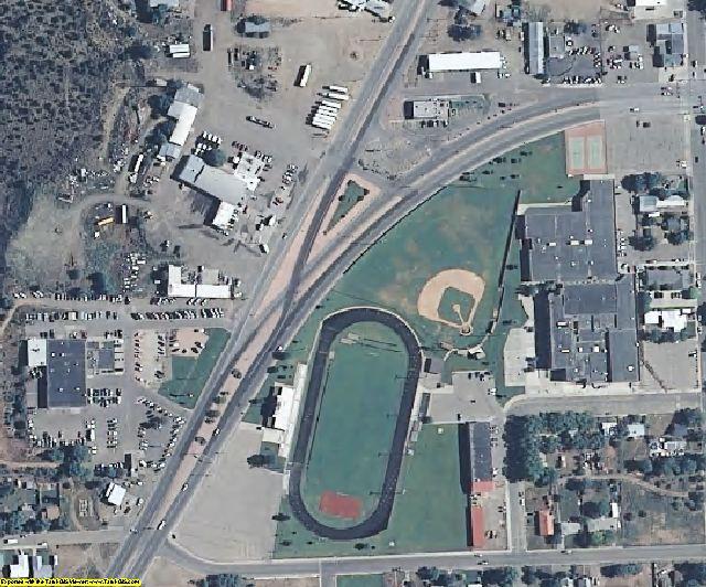 Montezuma County, CO aerial photography detail