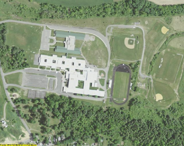 Montgomery County, NY aerial photography detail