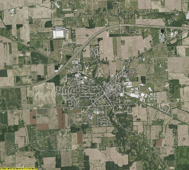 Montgomery County, Ohio aerial photography