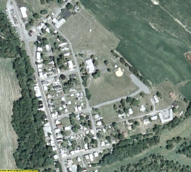 Montour County, PA aerial photography detail