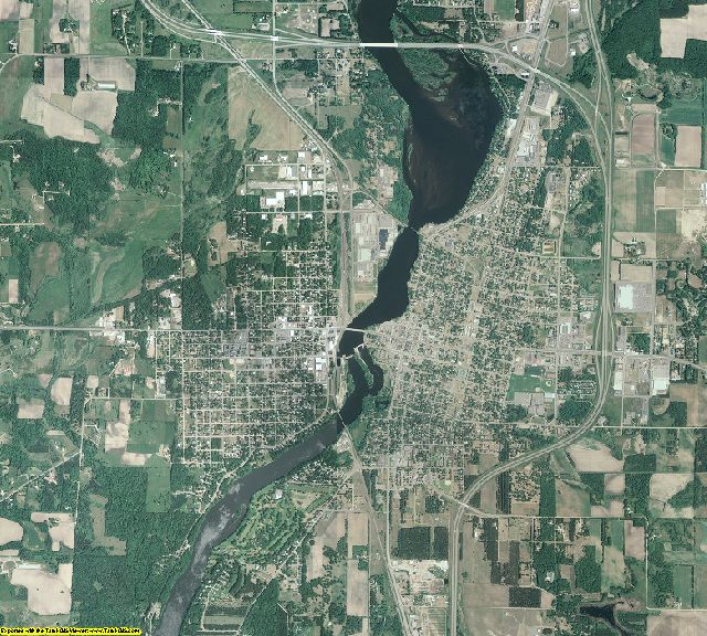 Morrison County, Minnesota aerial photography