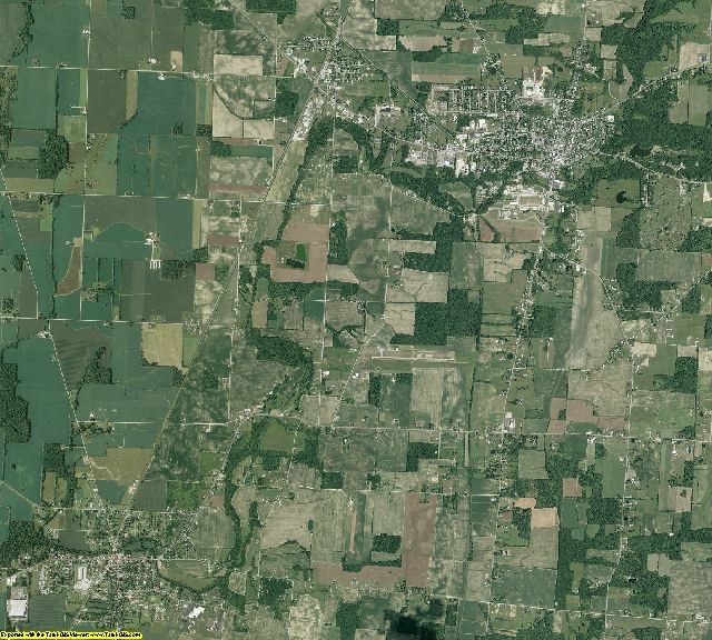 Morrow County, Ohio aerial photography