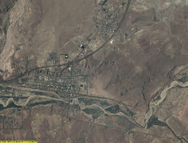 Navajo County, Arizona aerial photography