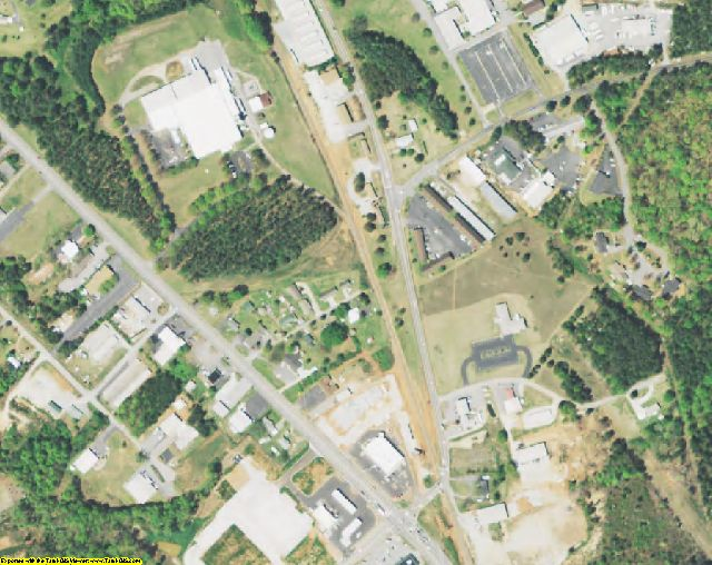 Oconee County, SC aerial photography detail