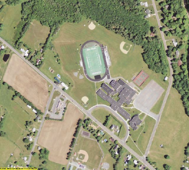 Oneida County, NY aerial photography detail