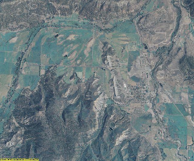 Ouray County, Colorado aerial photography