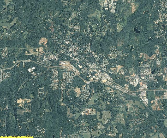 Paulding County, Georgia aerial photography