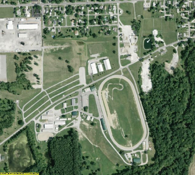 Paulding County, OH aerial photography detail