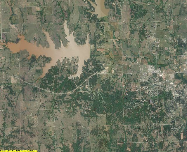 Payne County, Oklahoma aerial photography