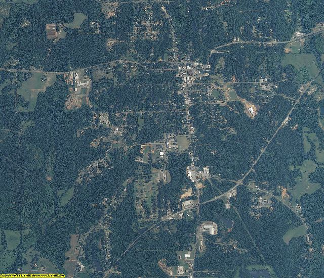 Perry County, Alabama aerial photography