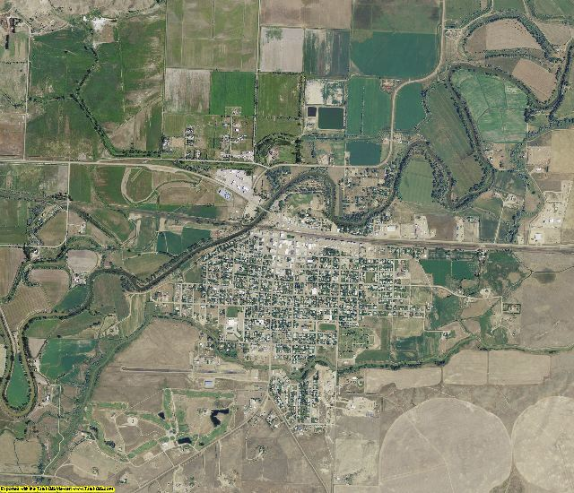 Phillips County, Montana aerial photography