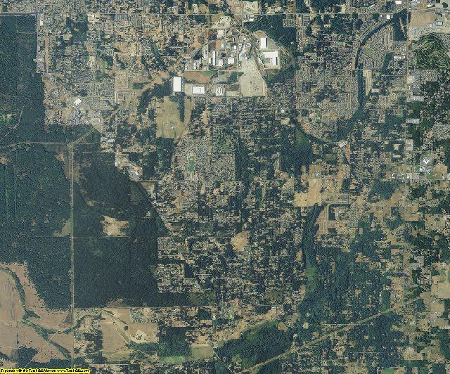 Pierce County, Washington aerial photography