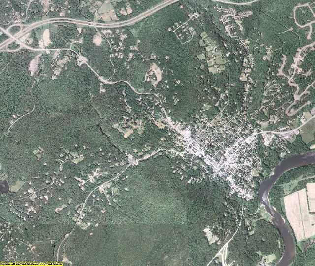 Pike County, Pennsylvania aerial photography