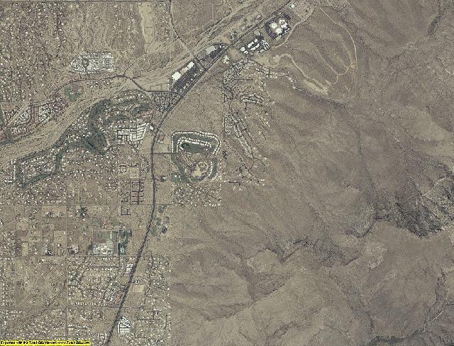 Pima County, Arizona aerial photography